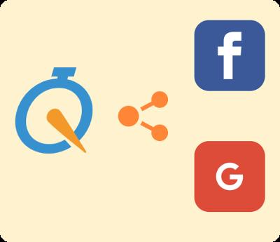 ソーシャルアカウント(Facebook / Google)でログイン可能に